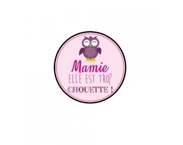 Mamie elle est trop chouette